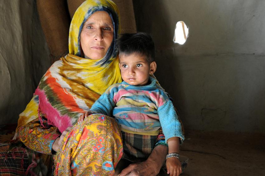 Roshni and her granddaughter Delaika