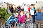 EASTER EGGS: Shannon Locke, Lisa Heaphy and Mark Walsh, Manor Village, Tralee enjoying an Easter egg hunt on Wednesday.