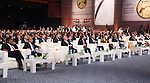 Egyptian President Abdel Fattah al-Sisi attends a ceremony of 150th anniversary of Egyptian parliament, in Cairo, Egypt, on Oct. 09, 2016. Photo by Egyptian President Office