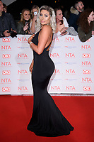 Chloe Ferry at the National Television Awards 2018 at the O2 Arena, Greenwich, London, UK. <br /> 23 January  2018<br /> Picture: Steve Vas/Featureflash/SilverHub 0208 004 5359 sales@silverhubmedia.com