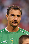 3 August 2004: Jerzy Dudek. Liverpool of the English Premier League defeated AS Roma of Italy's La Liga 2-1 at Giants Stadium in the Meadowlands Complex in East Rutherford, NJ in a ChampionsWorld Series friendly match..