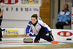 Mari Motohashi (LS Kitami), SEPTEMBER 13, 2013 - Curling : Olympic qualifying Japan Curling Championships Women's Round Robin Match between Fortius 9-3 LS Kitami at Dogin Curling Stadium, Sapporo, Hokkaido, Japan. (Photo by Hitoshi Mochizuki/AFLO)