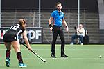 AMSTELVEEN - Hockey - Hoofdklasse competitie dames. AMSTERDAM-DEN BOSCH (3-1) scheidsrechter   Xander Damen.    COPYRIGHT KOEN SUYK