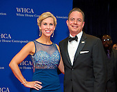 Republican National Committee chairman Reince Priebus and his wife, Sally Priebus arrive for the 2016 White House Correspondents Association Annual Dinner at the Washington Hilton Hotel on Saturday, April 30, 2016.<br /> Credit: Ron Sachs / CNP<br /> (RESTRICTION: NO New York or New Jersey Newspapers or newspapers within a 75 mile radius of New York City)