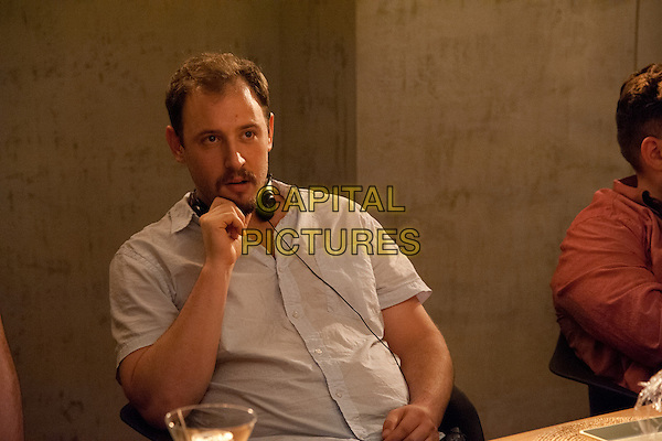 Evan Goldberg (Director)<br /> on the set of This Is the End (2013) <br /> *Filmstill - Editorial Use Only*<br /> CAP/NFS<br /> Image supplied by Capital Pictures
