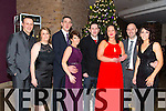 Joe Bartlett, Michelle Bartlett, Michael Clifford, Jillian Clifford, Dave O'Brien, Tara O'Brien, Eleanor O'Callaghan, John O'Callaghan at the New Year's Eve Ball at the Fels Point Hotel on Wednesday