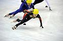 Biba Sakurai (JPN), FEBRUARY 2, 2011 - Short Track : the ladies 1000m short track skating preliminaries during the 7th Asian Winter Games in Astana, Kazakhstan. (Photo by AFLO) [0006]