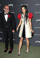 LOS ANGELES, CA - OCTOBER 29: Demi Moore, Eric Buterbaugh attends the 2016 LACMA Art + Film Gala honoring Robert Irwin and Kathryn Bigelow presented by Gucci at LACMA on October 29, 2016 in Los Angeles, California. (Credit: Parisa Afsahi/MediaPunch).