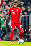 09.11.2019, Allianz Arena, Muenchen, GER, 1.FBL,  FC Bayern Muenchen vs. Borussia Dortmund, DFL regulations prohibit any use of photographs as image sequences and/or quasi-video, im Bild David Alaba (FCB #27) <br /> <br />  Foto © nordphoto / Straubmeier