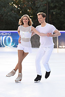 "Donna Air and Mark Hanretty<br /> at the ""Dancing on Ice"" launch photocall, natural History Museum, London<br /> <br /> <br /> ©Ash Knotek  D3365  19/12/2017"