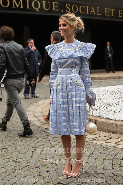 Lala Rudge attend Miu Miu Show Front Row - Paris Fashion Week  2016.<br /> October 7, 2015 Paris, France<br /> Picture: Kristina Afanasyeva / Featureflash