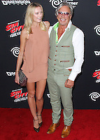 HOLLYWOOD, LOS ANGELES, CA, USA - AUGUST 19: Anastassija Makarenko, Mickey Rourke at the Los Angeles Premiere Of Dimension Films' 'Sin City: A Dame To Kill For' held at the TCL Chinese Theatre on August 19, 2014 in Hollywood, Los Angeles, California, United States. (Photo by Xavier Collin/Celebrity Monitor)