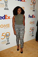LOS ANGELES - MAR 9:  Daisy Lightfoot at the 50th NAACP Image Awards Nominees Luncheon at the Loews Hollywood Hotel on March 9, 2019 in Los Angeles, CA