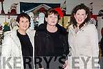 Deloras Johnson, Anne Dowd and Aoife Benton enjoying the Christmas craft fair in Moriarty's furniture on Thursday night