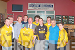 Pictured at the presentation of Jersey's to Listowel Emmetts at their club house in Listowel on Wednesday night were from l-r Conor Moriarty,(club registrar), John Perryman (assist pro), Norah Browne (pro), Mike Kennelly (Chairman), Con McCarthy (Sponsor), John Harnett (secretary), Sean Moriarty, (Treasurer) , and Tadhg Moriarty Vice chairman..