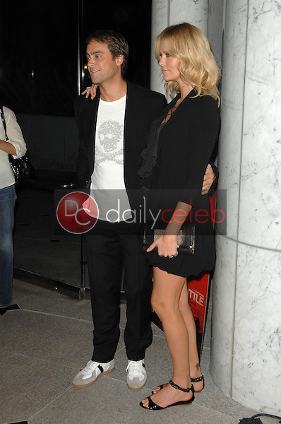 Stuart Townsend and Charlize Theron<br />