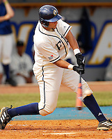 Florida International University Golden Panthers versus the .Missouri Tigers at University Park Stadium, Miami, Florida on Sunday, February 11, 2007.  The Tigers defeated the Golden Panthers, 3-2...Senior catcher Luis Bautista (34)