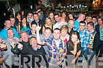 TWENTY ONE: Tommy Moriarty, St Brendan's Pk, Tralee (front centre) celebrating his 21st birthday in Kirby's Brogue, Tralee last Saturday night surrounded by many friends and family.