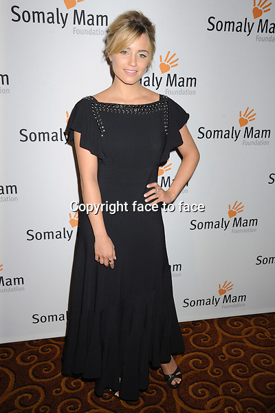 NEW YORK, NY - OCTOBER 23: Dianna Agron at Somaly Mam Foundation's &quot;Life Is Love&quot; Gala to celebrate hope, action and change in the fight to end slavery at Gotham Hall in New York. October 23, 2013. <br />