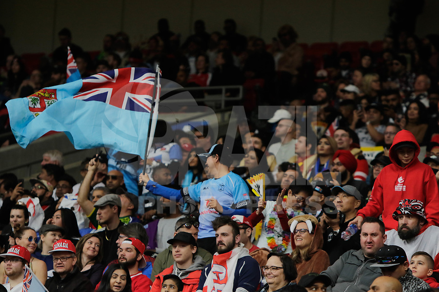 VANCOUVER,CA, 09.03.2019 – FIJI X QUENIA- WORLD RUGBY SEVEN SERIES– Jogador de Fiji durante partida contra o Quenia em jogo válido pelo  WORLD RUGBY SEVEN SERIES , no BC Place, em Vancouver, neste sabado, 09. (Foto:Clelio Tomaz/Brazil Photo Press)