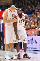 Jenkins &amp; Zirbes<br /> Euroleague - 2014/15<br /> Regular season Round 8<br /> Valencia Basket vs Crvena Zvezda Telecom Belgrade