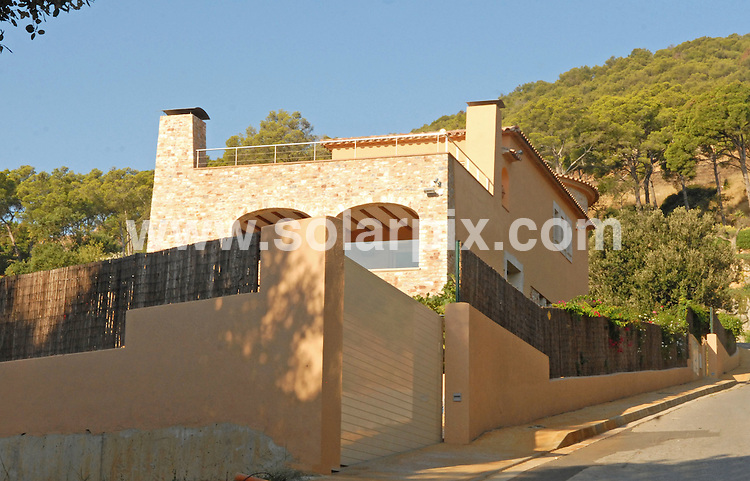 **ALL ROUND EXCLUSIVE PICTURES FROM SOLARPIX.COM**.**WORLDWIDE SYNDICATION RIGHTS**.Homes owned by Christopher Chiles in Spain. .Words by Tom Worden +34 680 152 448..This pic: Christopher Chiles  home in Bagur, on the Costa Brava...JOB REF:    10021    NSP      DATE:  25_09_2009.**MUST CREDIT SOLARPIX.COM OR DOUBLE FEE WILL BE CHARGED**.**MUST AGREE FEE BEFORE ONLINE USAGE**.**CALL US ON: +34 952 811 768 or LOW RATE FROM UK 0844 617 7637**
