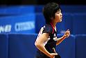 Miu Hirano, JANUARY 20, 2011 - Table Tennis : All Japan Table Tennis Championships, Women's Singles 2nd Round at Tokyo Metropolitan Gymnasium, Tokyo, Japan. (Photo by Daiju Kitamura/AFLO SPORT) [1045]..