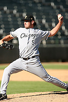 Aaron Poreda / Peoria Saguaros 2008 Arizona Fall League..Photo by:  Bill Mitchell/Four Seam Images