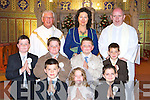 Curranes NS pupils who received their First Holy Communion in St Stephen's and John's church Castleisland on Saturday                    Copyright Kerry's Eye 2008