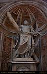 St Andrew Southeast Pier Sculpture Francois Duquesnoy 1635 St Peter's Basilica Rome