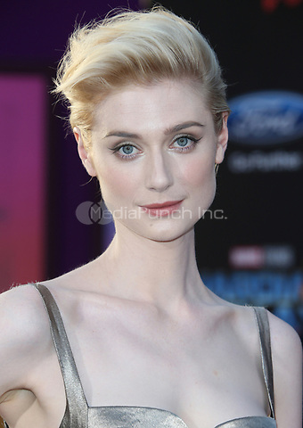 "HOLLYWOOD, CA - April 19: Elizabeth Debicki, At Premiere Of Disney And Marvel's ""Guardians Of The Galaxy Vol. 2"" At The Dolby Theatre  In California on April 19, 2017. Credit: FS/MediaPunch"