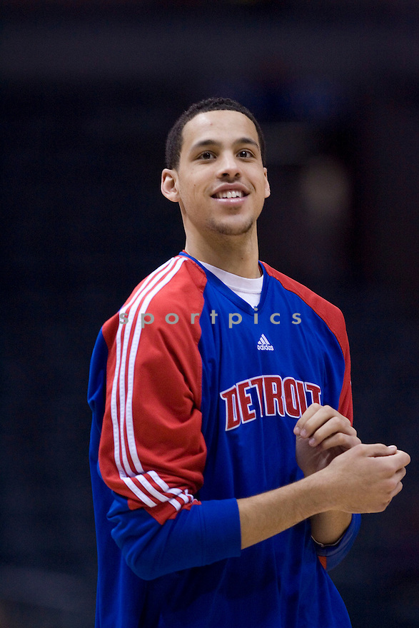 Austin Daye..Milwaukee Bucks lost to the Detroit Pistons 81-93.