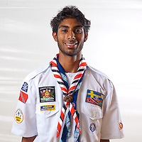 Scout from Trinidad and Tobago. Photo: Jonas Elmqvist