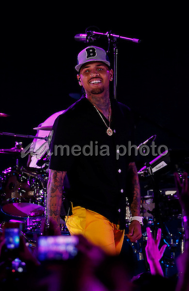 30 May 2015 - Las Vegas, Nevada -  Chris Brown.  iHeartRadio Summer Pool Party at Caesars Palace.  Photo Credit: MJT/AdMedia