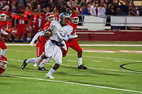 #5 Taye Gatewood of Southside picks up a first down during the second half on Friday.