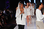 Models walk runway in outfits from Sita Couture collection fashion show, at The Society Fashion Week on September 9, 2018 at The Roosevelt Hotel in New York City, during New York Fashion Week Spring Summer 2019.