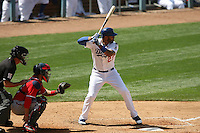 04/29/12 Los Angeles, CA: Los Angeles Dodgers center fielder Matt Kemp #27 during an MLB game between the Washington Nationals and the Los Angeles Dodgers played at Dodger Stadium. The Dodgers defeated the Nationals 2-0.