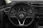 Car pictures of steering wheel view of a 2017 Nissan Qashqai N Connect 5 Door SUV