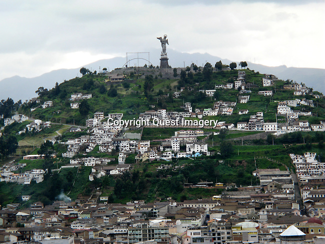 Quito is the capital city of Ecuador, and at an elevation of 9,350 feet, it is the highest official capital city in the world.<br />