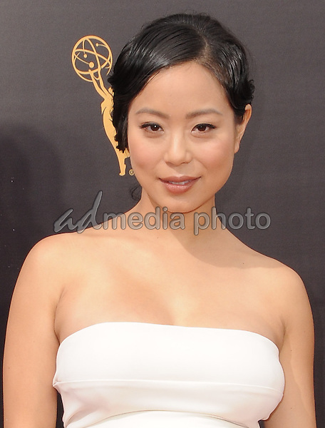 11 September 2016 - Los Angeles, California. Michelle Ang. 2016 Creative Arts Emmy Awards - Day 2 held at Microsoft Theater. Photo Credit: Birdie Thompson/AdMedia
