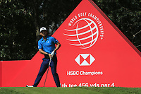 Xander Schauffele (USA) on the 11th tee during round 1 at the WGC HSBC Champions, Sheshan Golf Club, Shanghai, China. 31/10/2019.<br /> Picture Fran Caffrey / Golffile.ie<br /> <br /> All photo usage must carry mandatory copyright credit (© Golffile | Fran Caffrey)