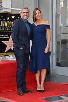 LOS ANGELES, CA. August 20, 2018: Steve Carell &  Jennifer Garner at the Hollywood Walk of Fame Star Ceremony honoring actress Jennifer Garner.