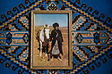 Morocco - Ouarzazate - A picture of Mohamed Habib's father showing him on a movie set. Mohamed's father is one of the first Ouarzazati who has ever worked in the film industry.