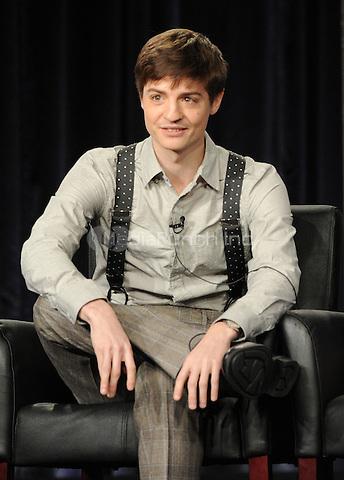 2015 FX WINTER TCA: Creator/Executive Producer/Writer Simon Rich during the MAN SEEKING WOMAN panel at the 2015 FX WINTER TCA on Sunday, Jan. 18 at the Langham Hotel in Pasadena CA.  Credit: PGFM/MediaPunch