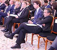 CAPRI  27/10/2012 -.XXVII CONVEGNO GIOVANI INDUSTRIALI .NELLA FOTO BARCA MORELLI.FOTO CIRO DE LUCA