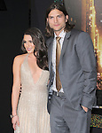 Ashton Kutcher and Lea Michele  at The Warner Bros. Pictures World Premiere of New Year's Eve  held at The Grauman's Chinese Theatre in Hollywood, California on December 05,2011                                                                               © 2011 Hollywood Press Agency