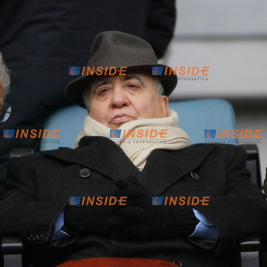 Roma 25/1/2004 <br /> Roma Udinese 1-1 <br /> Il Presidente della Roma Franco Sensi<br /> Foto Andrea Staccioli Insidefoto