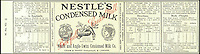 BNPS.co.uk (01202 558833)<br /> Picture: Nestle/BNPS<br /> <br /> ****Please use full byline****<br /> <br /> Condensed milk. <br /> <br /> A selection of vintage chocolate and sweets wrappers have been unearthed to help trigger happy memories in dementia sufferers.<br /> <br /> Some of the earliest examples of the Rowntrees packaging dates from the 1920s and includes the first wrappers for famous treats such as Aero, Dairy Box, and Fruit Gums.<br /> <br /> As the brands were updated over the years the paper casing was gradually changed but examples of the early versions were stored in an archive.<br /> <br /> Historians at Rowntrees have now placed images of the packets on an online document so that they can be seen by dementia sufferers as a way to reminisce.