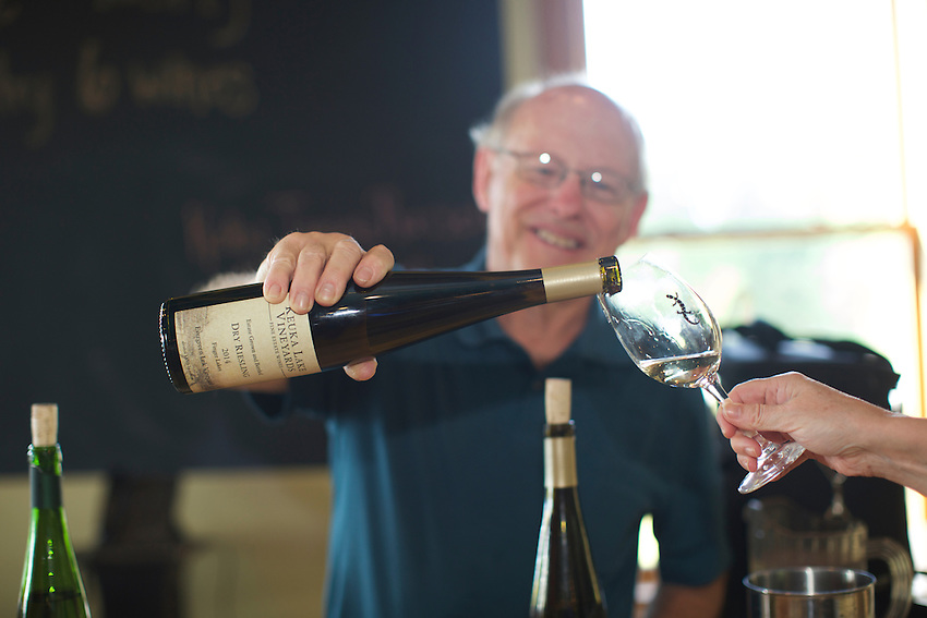 Hector, NY - June 20, 2016: The New York Wine and Grape Foundation bring New York City sommeliers and wine buyers to the Finger Lakes region as part of its NY Drinks NY program.<br /> <br /> CREDIT: Clay Williams.<br /> <br /> &copy; Clay Williams / claywilliamsphoto.com