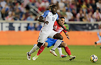 Harrison, N.J. - Friday September 01, 2017:   Jozy Altidorey during a 2017 FIFA World Cup Qualifying (WCQ) round match between the men's national teams of the United States (USA) and Costa Rica (CRC) at Red Bull Arena.